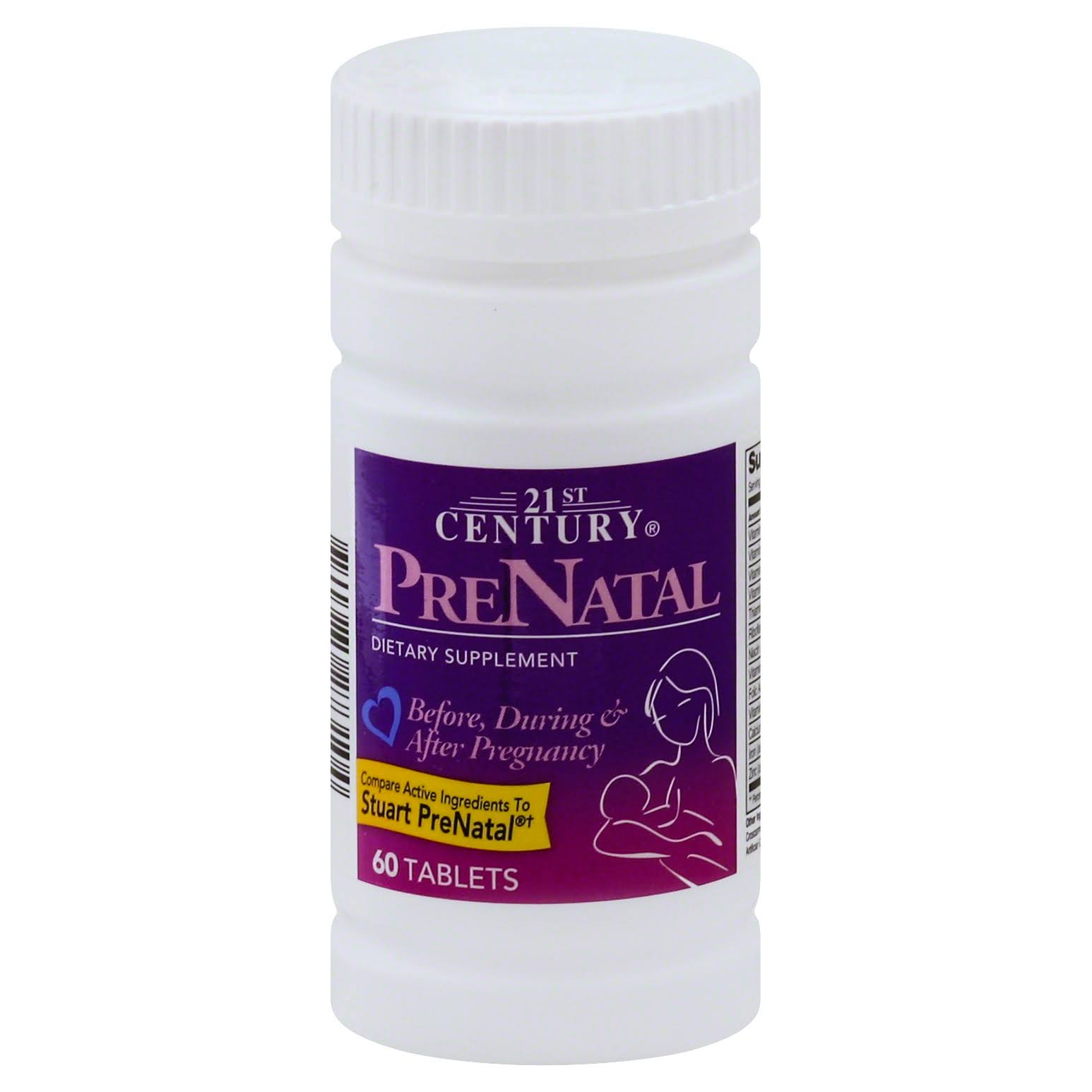 21st Century Prenatal Dietary Supplement - 60 Tablets