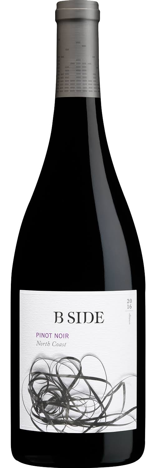 B Side North Coast Pinot Noir 2016 750ml