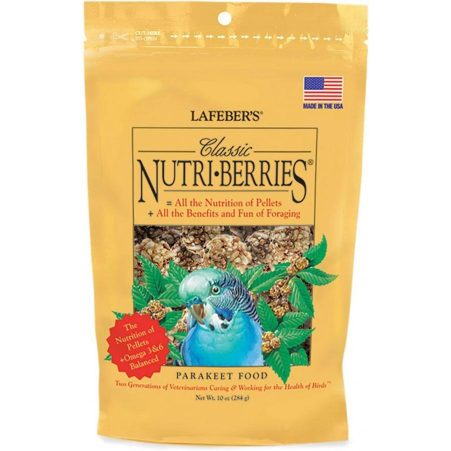 Lafeber's Nutri-Berries Parakeet Food - 10oz