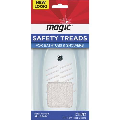 Magic Safety Treads - Tubs & Showers, x12