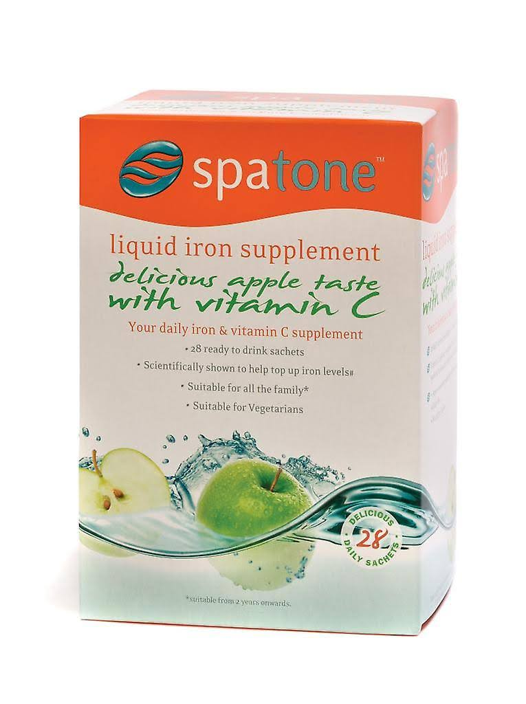 Spatone Liquid Iron Supplement - with Vitamin C, 25ml, 28 Count