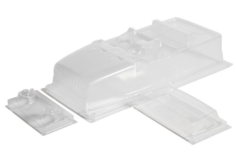 Axial 2012 Jeep Wrangler Rubicon Unlimited Body - Clear, 1:10 Scale