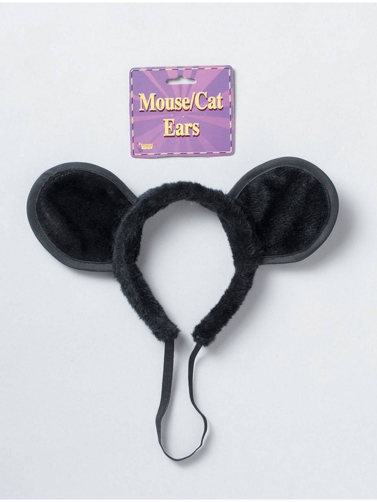 Forum Novelties Deluxe Mouse and Cat Ears