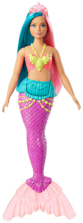 Mattel Barbie Dreamtopia Surprise Mermaid Doll - Multi - Great Gift Idea