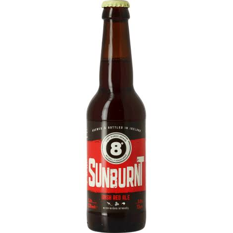 8 Degrees Sunburnt Irish Red Ale
