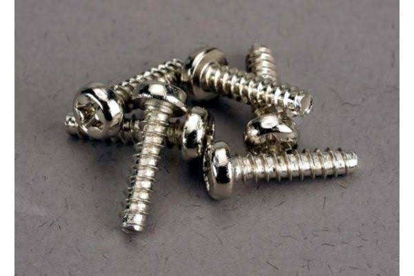 Traxxas Screws - 3x12mm, Round Head