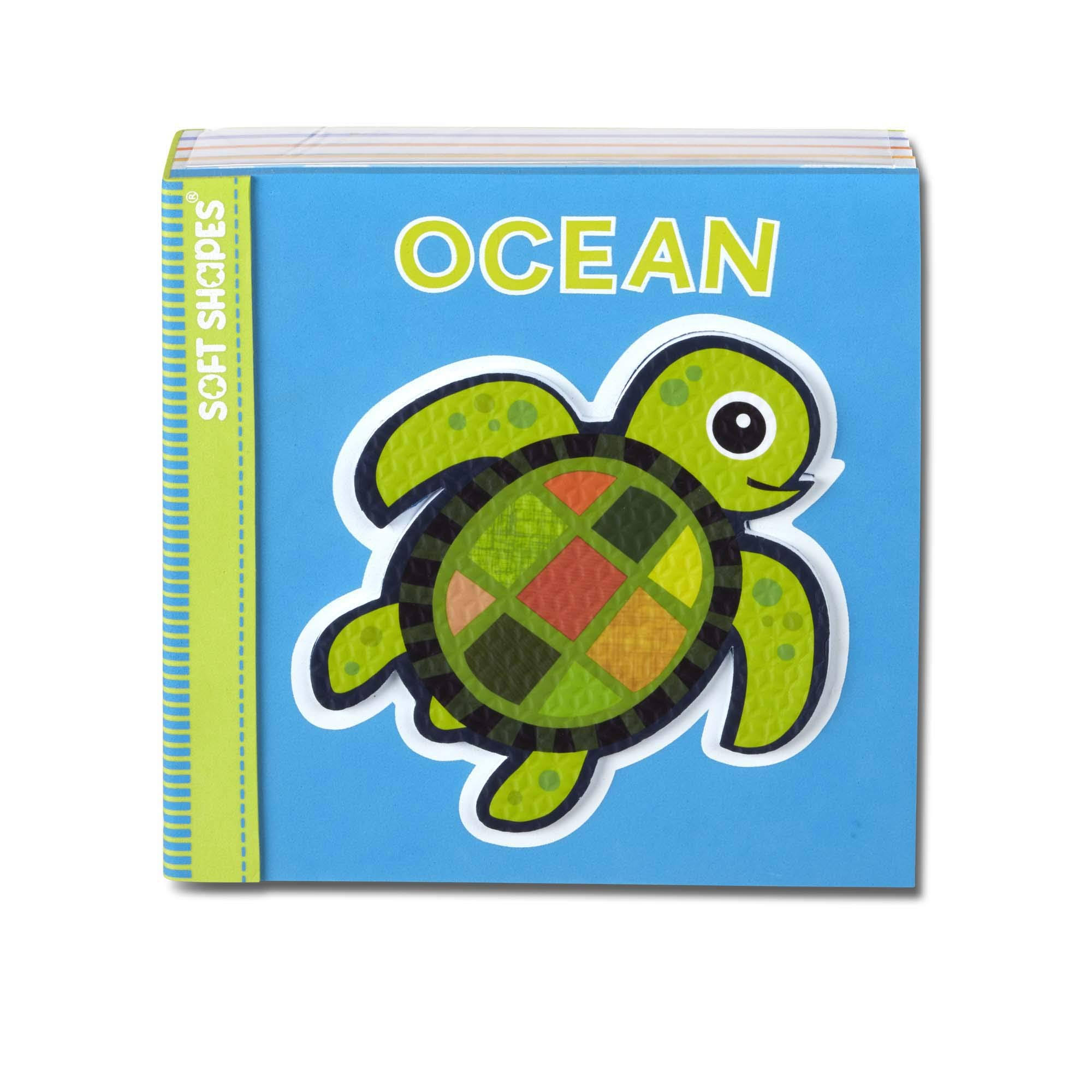 Melissa & Doug Soft Shapes Ocean Puzzle Book