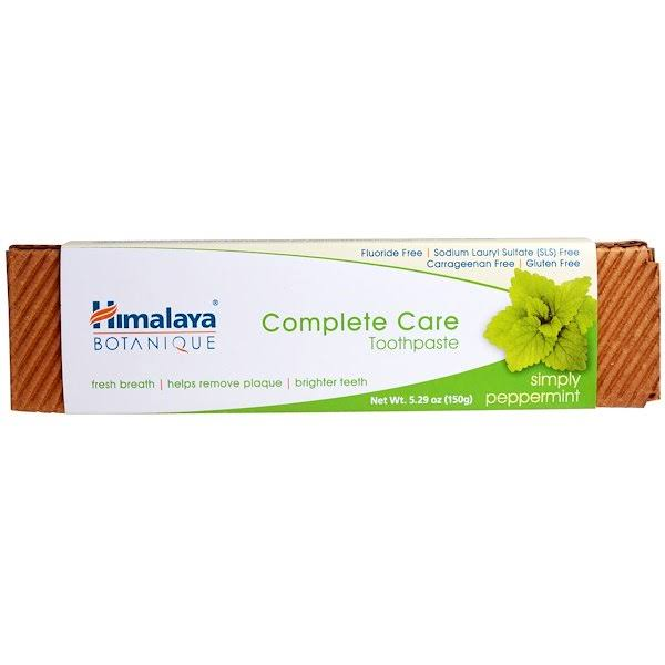 Himalaya Complete Care Toothpaste - Simply Peppermint 5.29oz