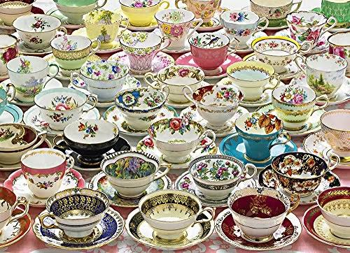 Cobble Hill Jigsaw Puzzle - More Teacups, 1000 Piece