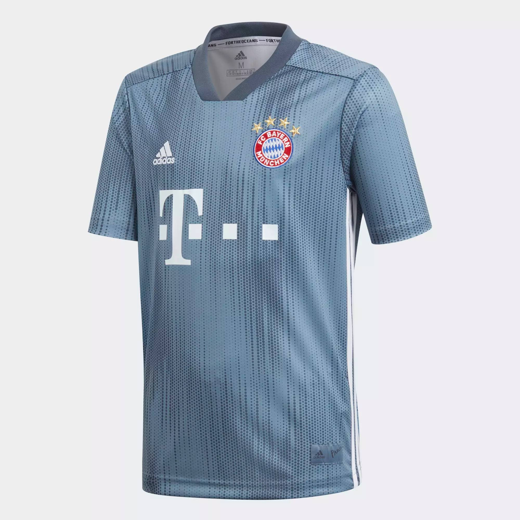 Adidas Bayern Munich Youth Third Soccer Jersey 2018-19