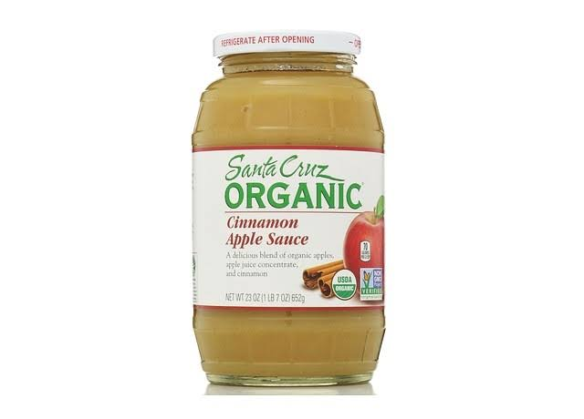 Santa Cruz Organic Cinnamon Apple Sauce - 23oz