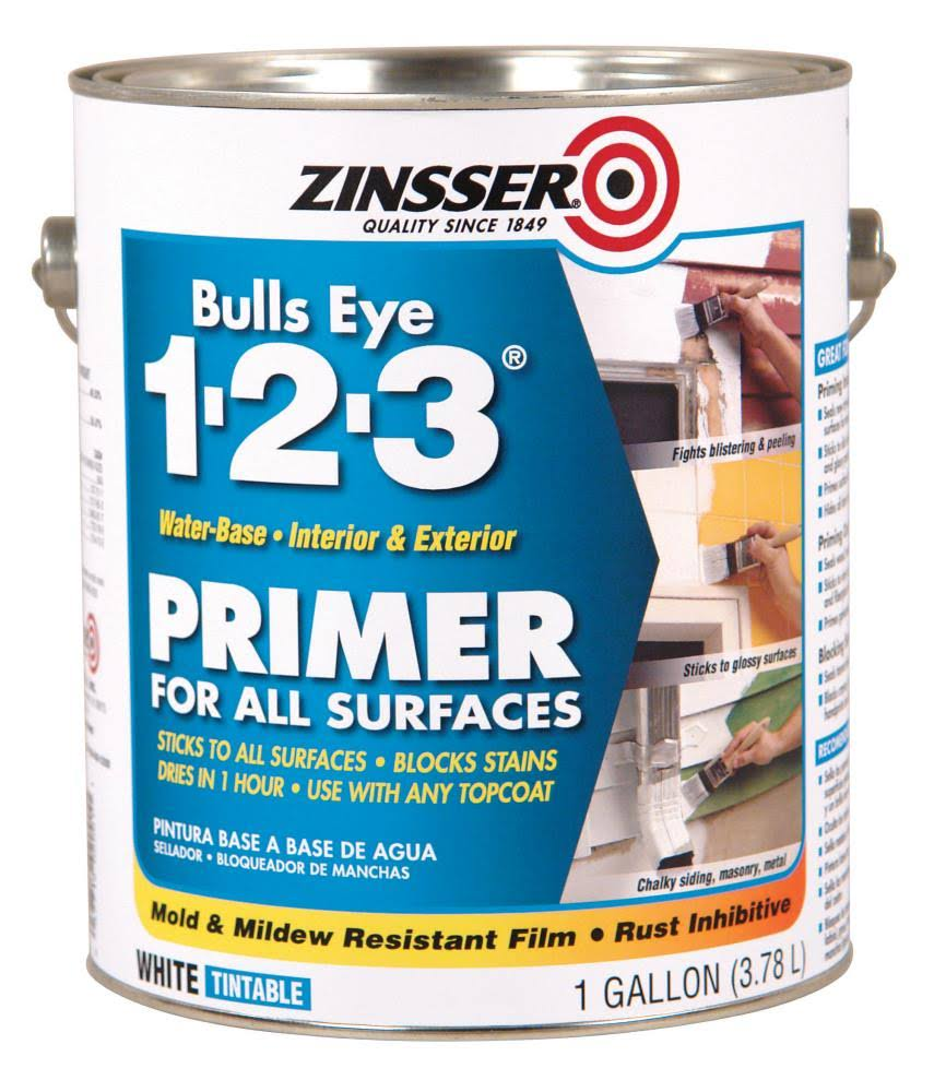 Zinsser Bulls Eye 1-2-3 Primer Sealer & Stain Killer