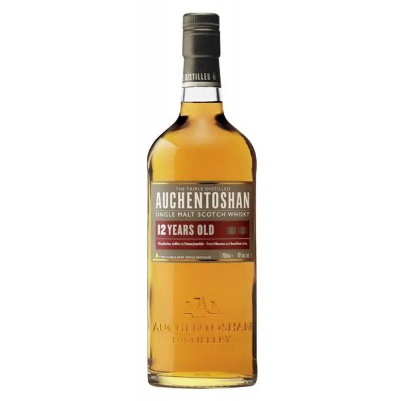 Auchentoshan 12 Years Old Single Malt Scotch Whisky - 700ml