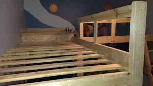 diy l shaped bunk beds part ii timandmeg net boy u0027s bedroom