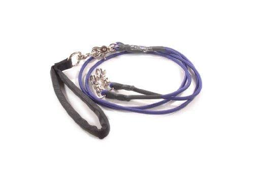Bungee Pupee 4-Feet Double Small Leash Purple