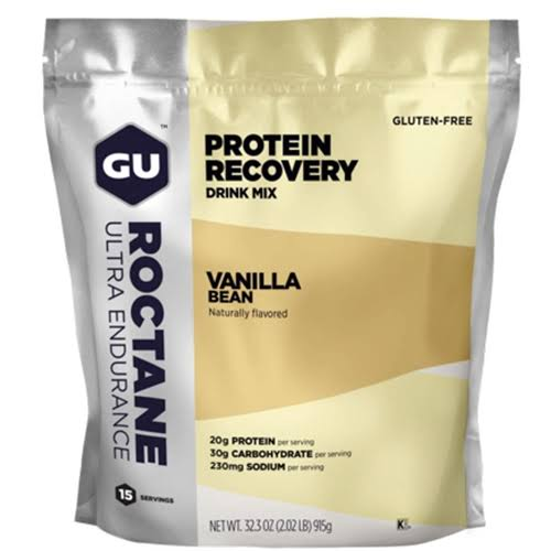 GU Roctane Protein Recovery Drink Mix - 15 Serving - Vanilla Bean