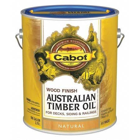 Cabot Australian Timber Oil - Natural, 1 Gallon