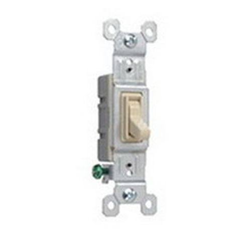 Pass & Seymour Toggle Switch - Single Pole, 15A