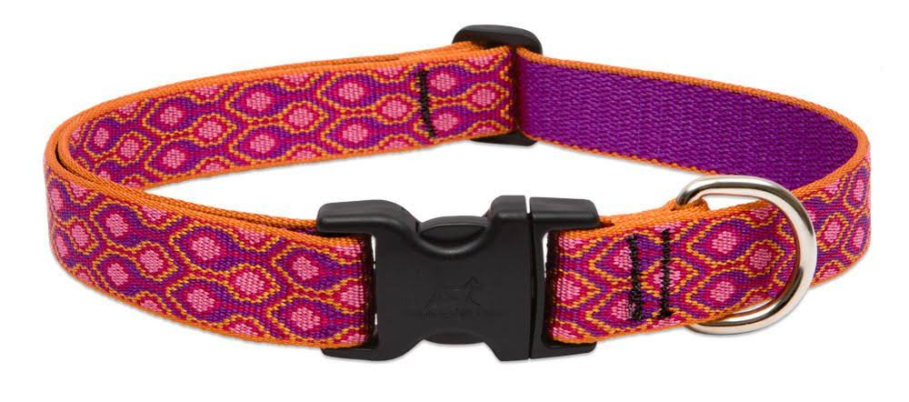 LupinePet Originals Alpen Glow Adjustable Dog Collar - 1 x 12-20 in