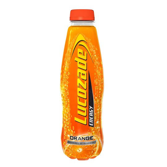 Lucozade Energy Drink - Orange, 500ml