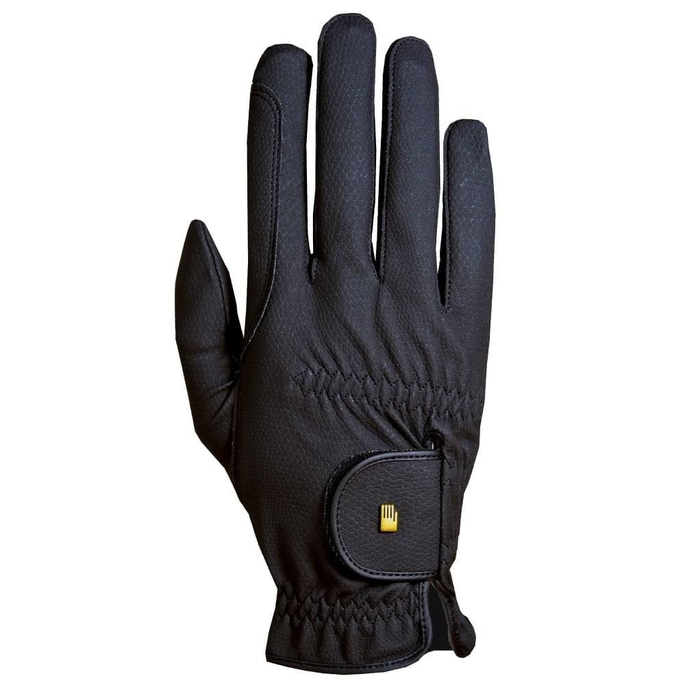 Roeckl Roeck-Grip Riding Gloves - Black - 7.5