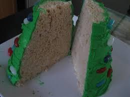 Rice Krispie Christmas Tree Cake by Rice Krispie Christmas Tree Dragonfly Designs