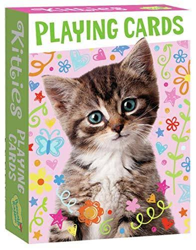 Peaceable Kingdom | Kitties Playing Cards