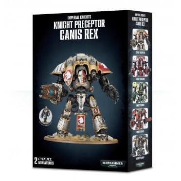 Warhammer 40K Imperial Knight Preceptor Canis Rex Figure
