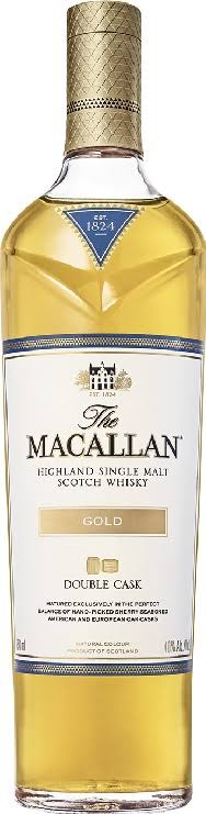 The Macallan Scotch Whisky, Highland Single Malt, Gold - 750 ml