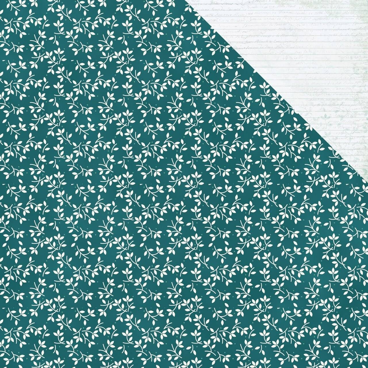 "Kaisercraft Morning Dew Collection Double Sided Paper - Calming, 12""x12"""