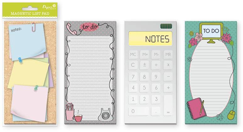 Papercraft Office Magnetic List Pad