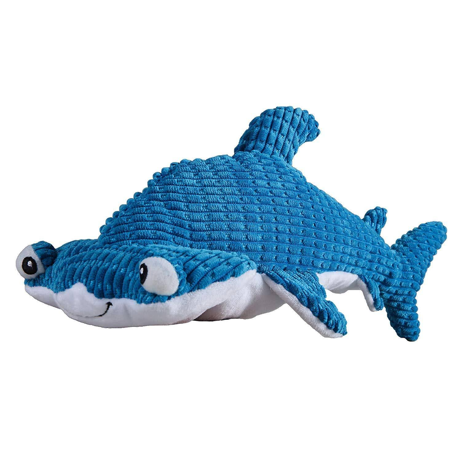 SmartPetLove Tender-Tuffs - Large Marine Plush Toy Hammerhead Shark