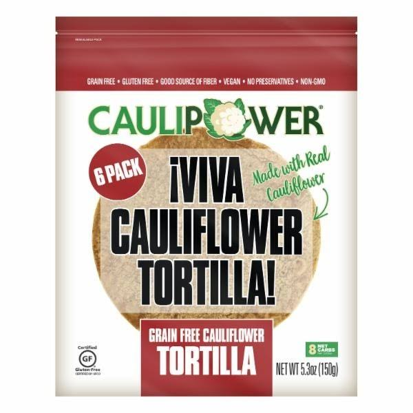Caulipower Grain Free Cauliflower Tortilla - 7 oz