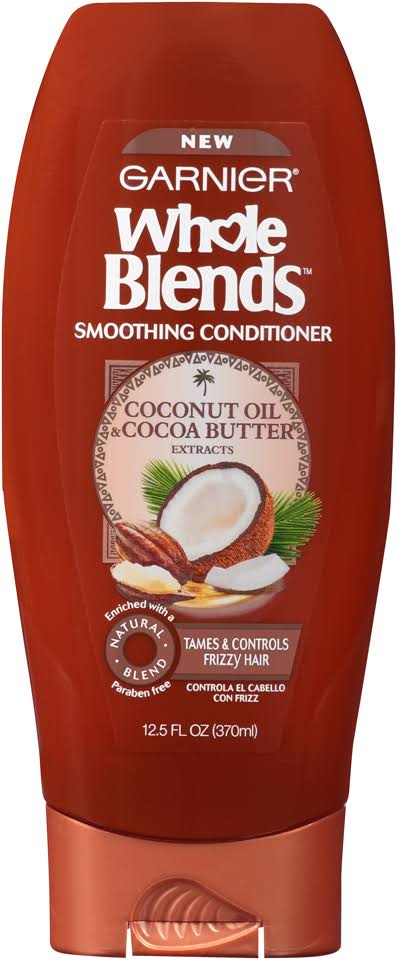 Garnier Whole Blends Conditioner - Coconut Oil and Cocoa Butter Extracts, 12.5oz