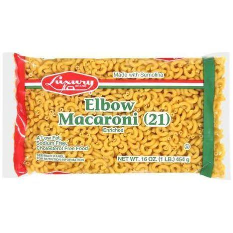 Luxury Elbow Macaroni - 16oz