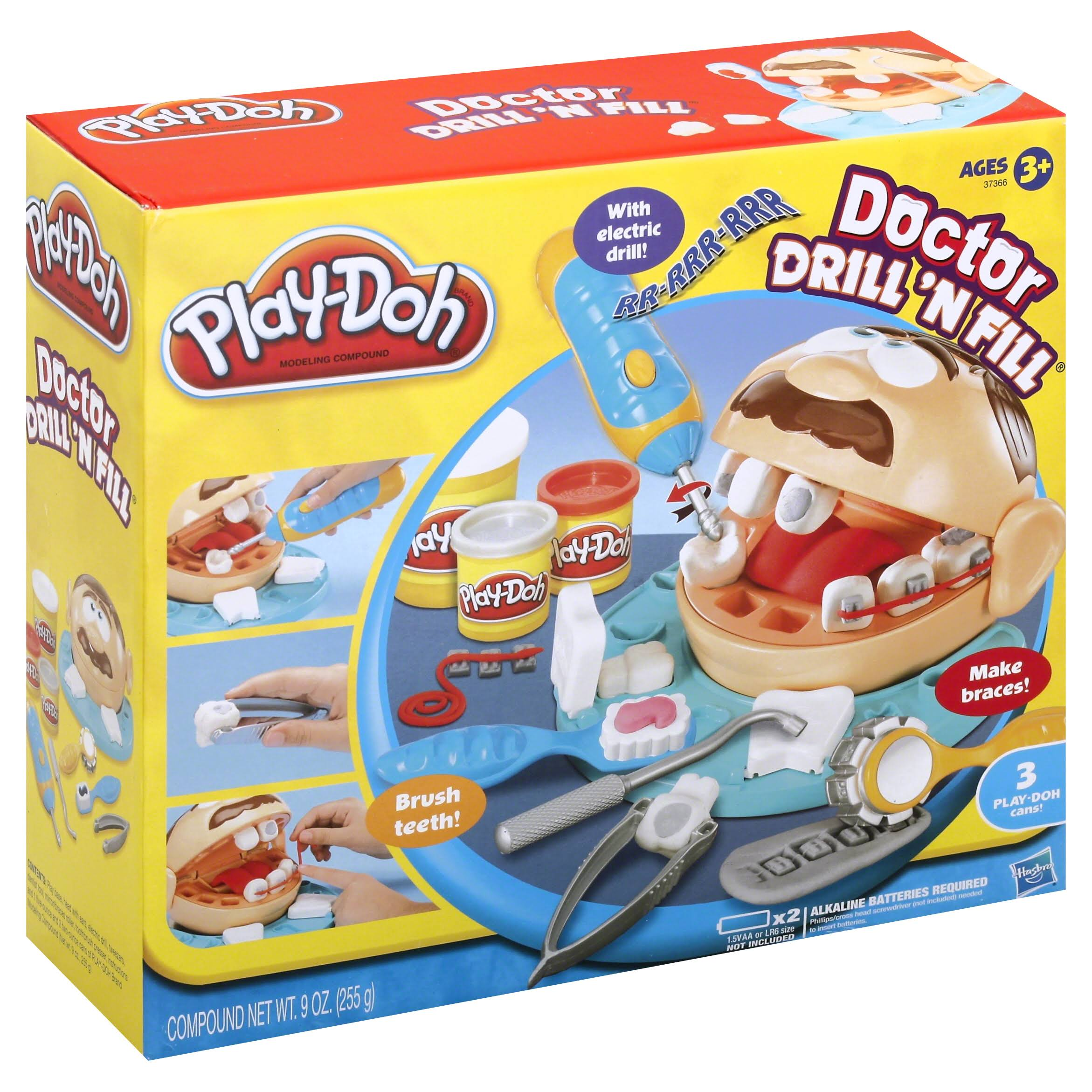 Play-Doh Doctor Drill 'N Fill Play Set