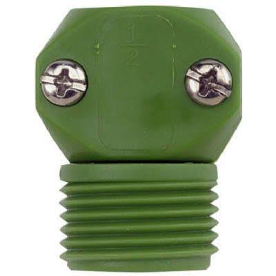 Gilmour 35MGT Green Thumb Poly Male Hose Coupler - 1/2 in