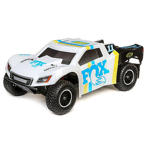 Losi 1/10 Tenacity 4WD SCT Brushed RTR, Fox Racing, LOS03024T2