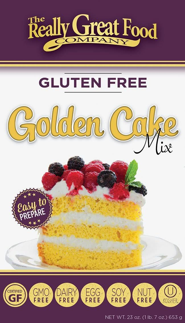 The Really Great Food Company Golden Cake Mix - 23oz