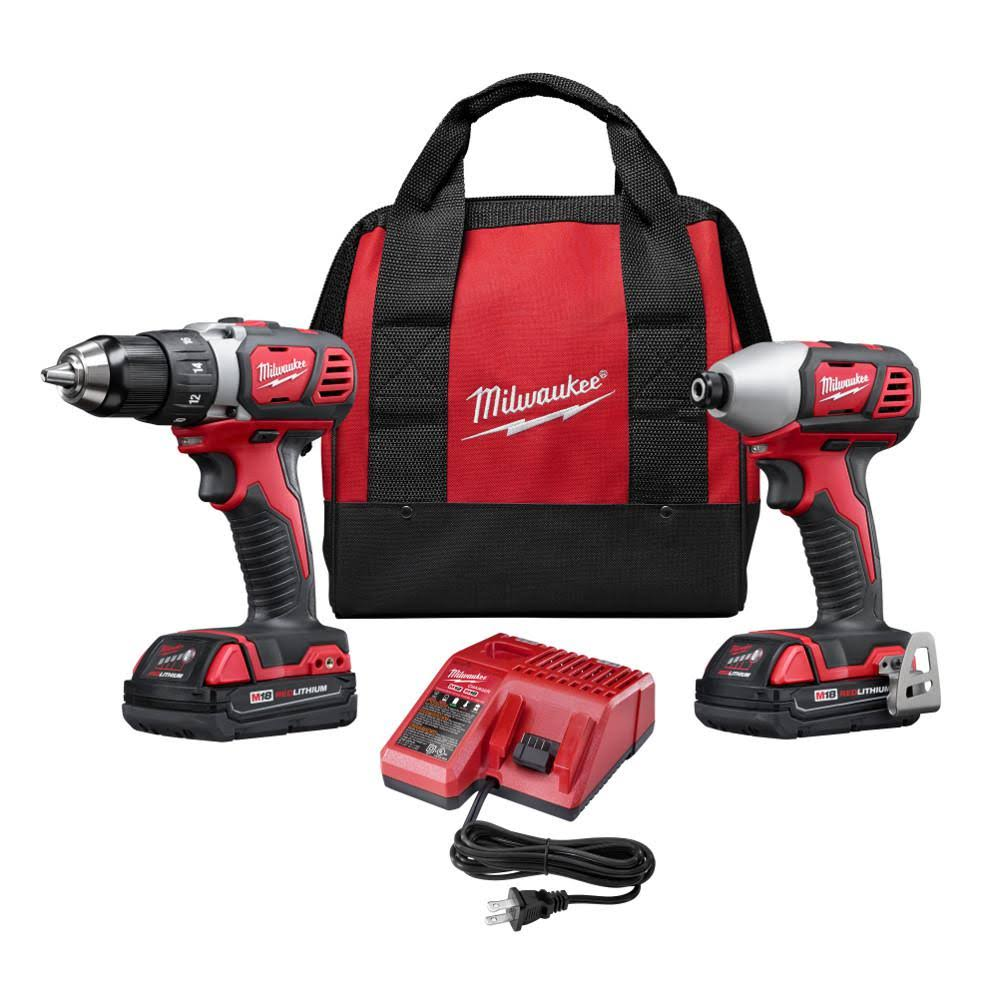 Milwaukee M18 Drill And Impact Driver Combo Kit