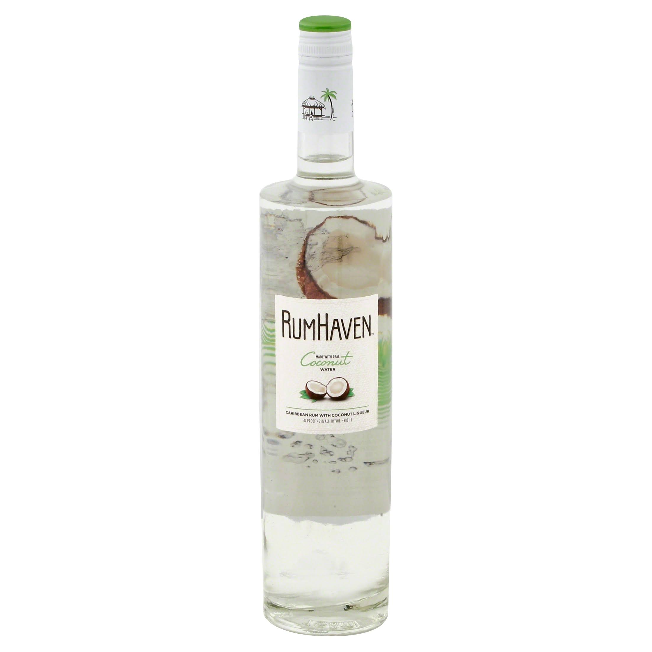 RumHaven Rum, Caribbean, with Coconut Liqueur - 750 ml