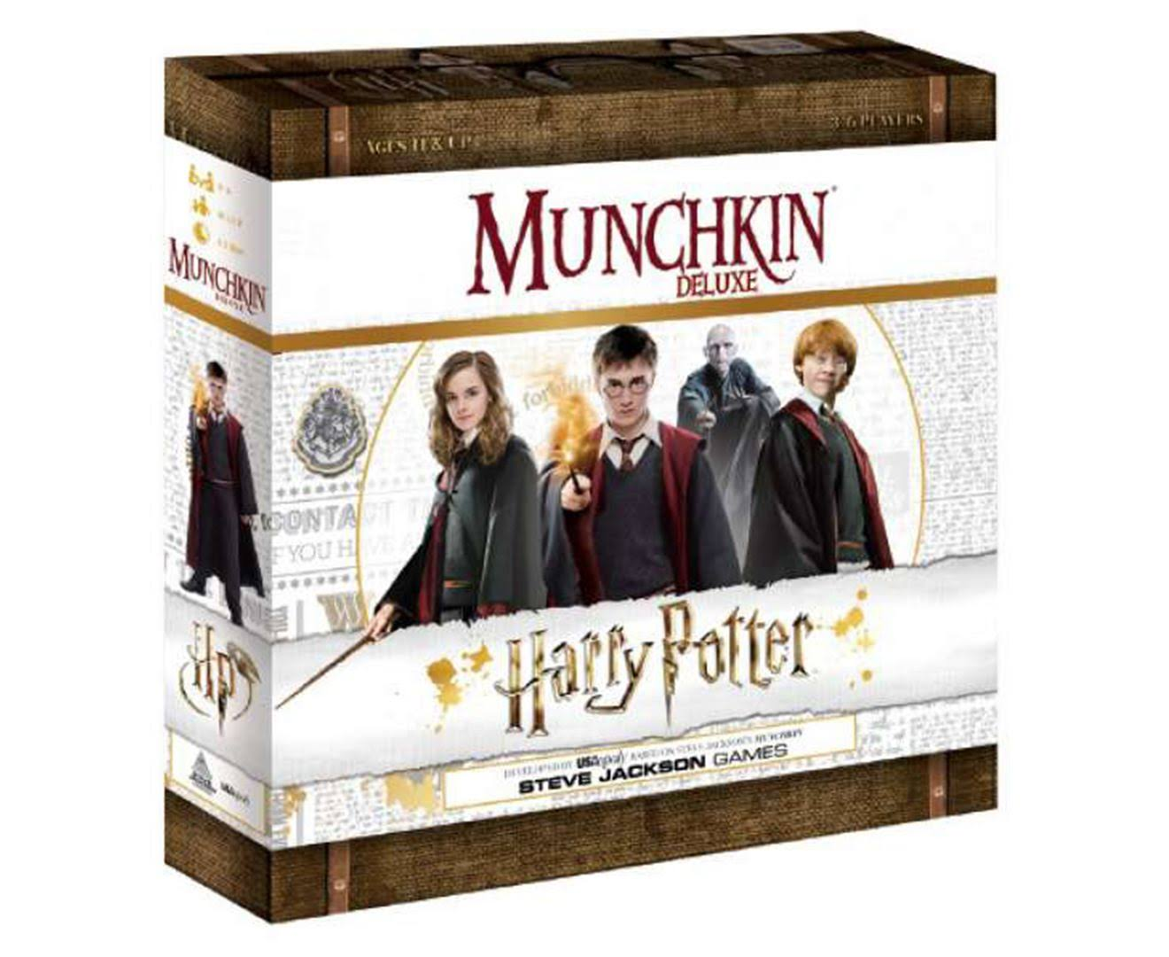 Harry Potter - Munchkin Deluxe Game