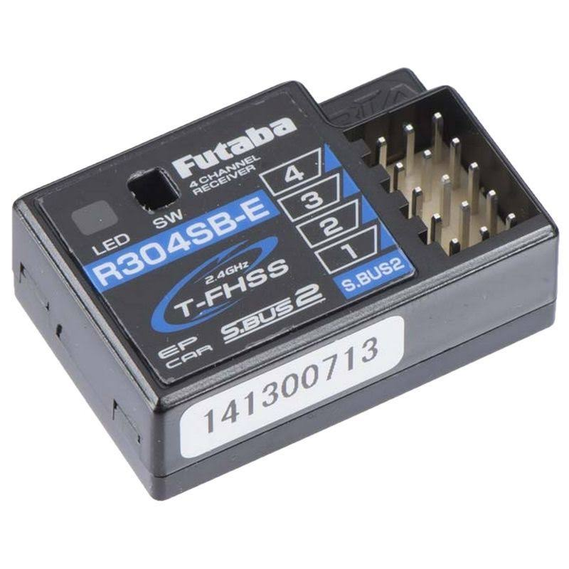 Futaba R304SBE Telemetry Receiver - 4 Channel, 2.4ghz