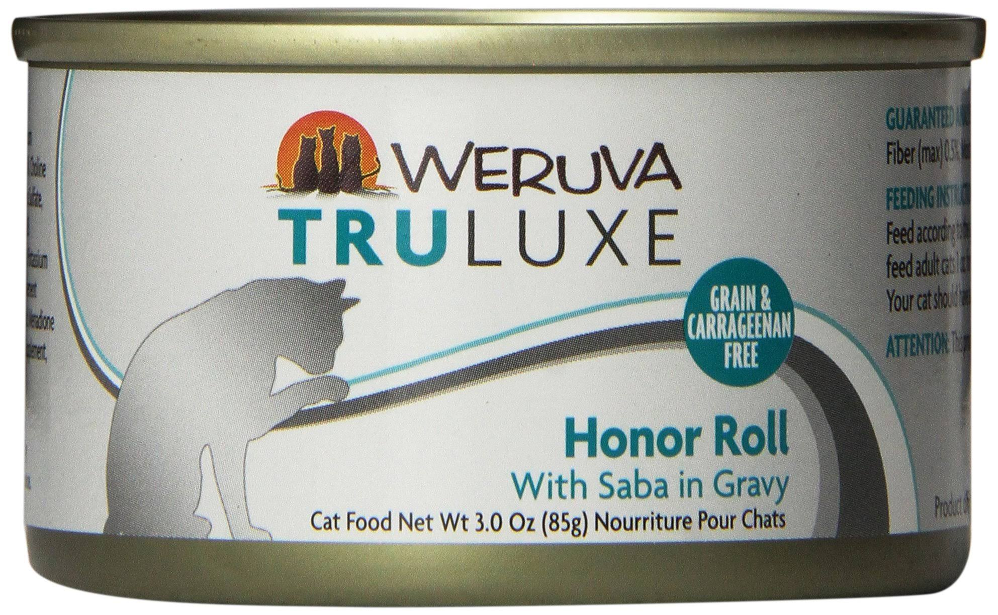 Weruva Truluxe Honor Roll Cat Food