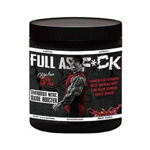 Full as F*ck Nitric Oxide Booster Sports Supplement - Fruit Punch, 360g