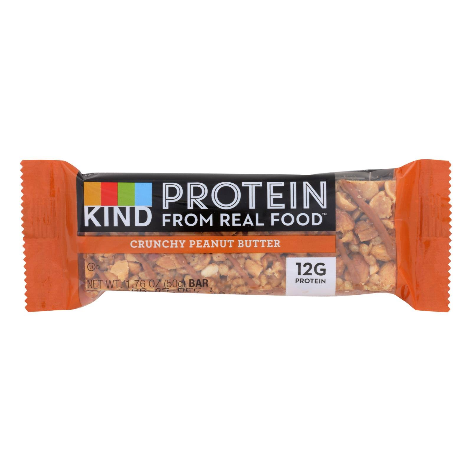 Kind Protein Bar - Crunchy Peanut Butter, 1.76oz
