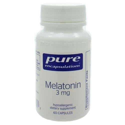 Pure Encapsulations Melatonin - 3mg, 60 Capsules