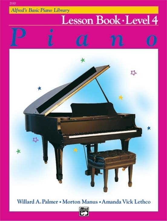 Alfred's Basic Piano Library: Lesson Book Level 4