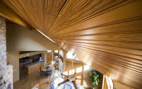 Armstrong Woodhaven Ceiling Planks by Ceiling Wood Tongue And Groove Installation