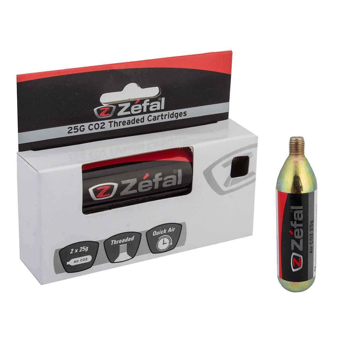 Zefal Threaded CO2 Cartridges - 4250D